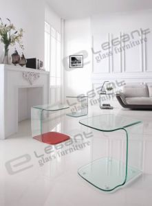 12mm Clear Glass Table with Painting S109c S019p S019sp pictures & photos