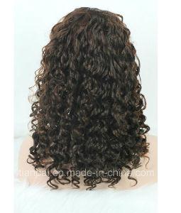 100% Raw Virgin Human Hair Kinky Curly Full Lace Wig