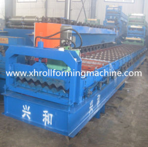 Steel Tile Metal Roof Roll Forming Machine (780)