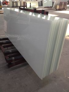 White Painted Colored Glass for Frame Safety Glass pictures & photos