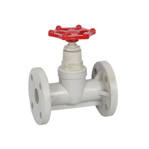 Pph Flange Connected Globe Valve pictures & photos