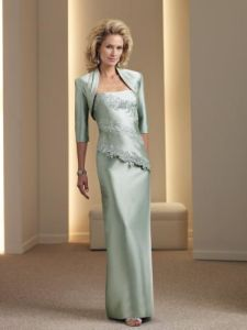 2011 New Fashion Custom Made 1 Piece Formal Mother of Bridal Dress (MC111950)