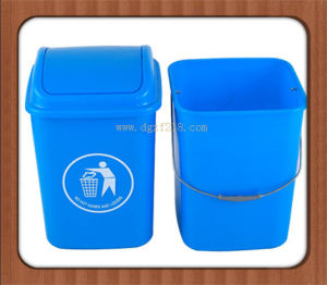 Brazil Colored Plastic Garbage Bin with Top Quality Manufacturer