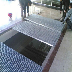 Platform Using Galvanized Steel Bar Grating pictures & photos