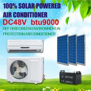 100% DC 48V 9000 BTU Solar Room Air Conditioner pictures & photos