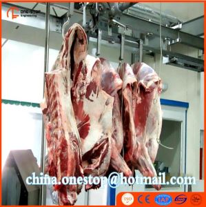 Islamic Muslim Halal Cattle Slaughterhouse Cattle Slaughter Equipment One Stop Abattoir Machine pictures & photos