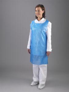 Hubei Disposable PE Plastic Apron pictures & photos