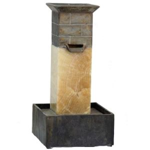 Outdoor Real Stone Fountain for Home Using pictures & photos