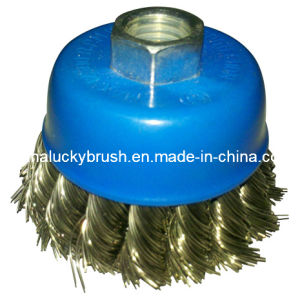 2.5 Inch Osborn Blue Colour Cup Brush (YY-081) pictures & photos