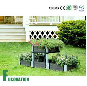 Backyard Patio WPC Flower Boxes, DIY WPC Planter pictures & photos