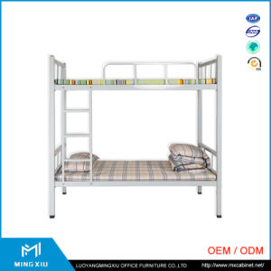 Mingxiu School Furniture Adult Heavy Duty Wrought Iron Steel Metal Bunk Bed pictures & photos
