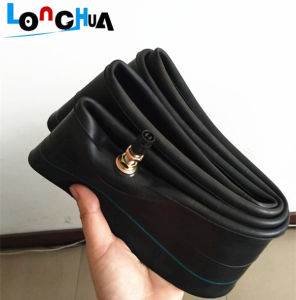 High Quality Natural Rubber Motorcycle Inner Tube (300/325-17) pictures & photos