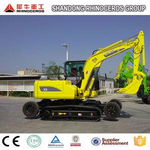 China 8 Ton Both Wheel-Crawler Excavator New Type Excavator pictures & photos