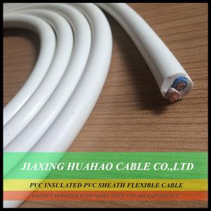 PVC Insulated PVC Sheath Copper/CCA Conductor 2core 3core 4core Flexible Cable pictures & photos