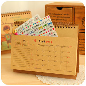 2015 New Design Table Calendar Desk Calendar pictures & photos