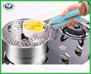 Kitchen Stainless Steel Hot Dish Plate Retriever Tong