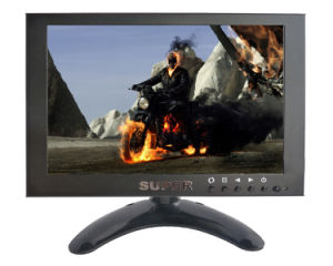 "7"" LED CCTV Monitor AV Monitor BNC Monitor (Metal Case with good quality) pictures & photos"