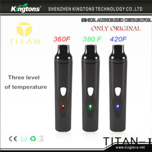 No. 1 Sell Portable Titan 1 Hebe Vaporizer E Cigarette for Dry Herb pictures & photos