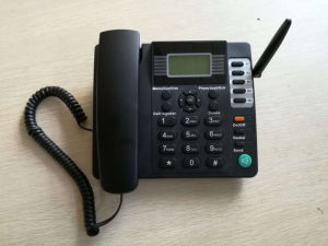 Quad Band GSM Fixed Wireless Desktop Phone with SIM Card/GSM Fwp pictures & photos