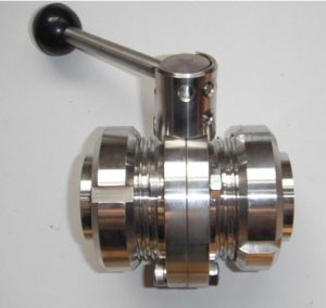 Sanitary Stainless Actuator Sanitary Butterfly Valve (CF8832)