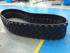 Non-Metal Core Rubber Tracks for Claas Lexion 750
