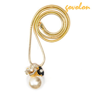 New Fashion Jewellery Necklace with Pearl Pendant pictures & photos