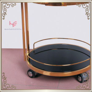Liquor Trolley (RS150502) Cart Trolley Stainless Steel Furniture pictures & photos