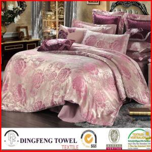 Fashion Poly-Cotton Jacquard Bedding Set Df-C141 pictures & photos