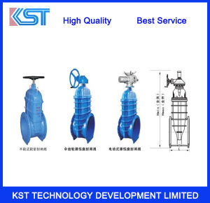 Industrial electric Cast Iron Gate Valve