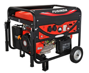 2.5kw Electric Portable Petrol Generator with Handle and Wheels pictures & photos