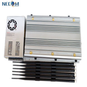High Power Portable Cellphone Signal Jammer /Signal Blocker New in 2015, GPS, WiFi, VHF, UHF and Cell Phone Jammer pictures & photos