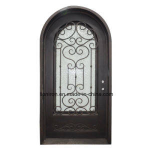 Interior Custom Security Single Door with Glass pictures & photos