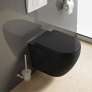 Kohler Design Ce Colorfull Wall Hung Toilet Closet (ETNA-WT-Black) pictures & photos