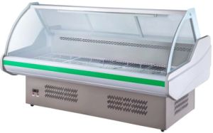 1.5m display Chiller for Supermarket Use pictures & photos