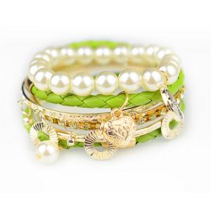 Pearl Handmade Fashion Leather Bracelet