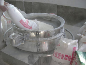 China Quality Flour Vibrating Sieve Manufacturer pictures & photos