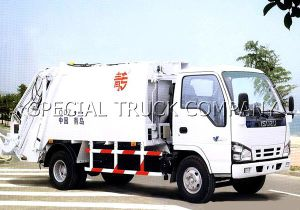 Isuzu Rear Garbage Truck 6cbm pictures & photos