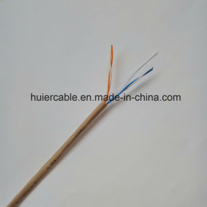Phone Cable Cat3 with 2 Twisted Pairs, PVC/Lsoh Jacket pictures & photos