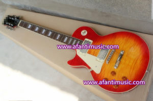 Left Hand / Sunburst Color / Afanti Standard Electric Guitar (SDD-237) pictures & photos