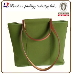 Gift Paper Nonwoven Shopping Bag Leather Cotton Canvas Handle Shopping Bag (X024) pictures & photos