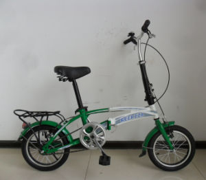"Economic Type Single Speed 14"" Folding Bicycle (FP-FDB-D024) pictures & photos"