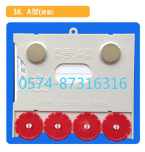 Type a 10*8.8cm Magnetic Material Card Storage Card Warehouse Card with Numbers pictures & photos