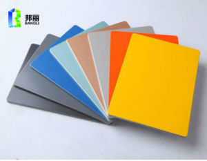 Exterior Wall Panels Aluminum Coil Wood Grain Decoration Material ACP pictures & photos