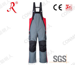 Winter Quilted Sea Fishing Bib Pants (QF-9077B) pictures & photos