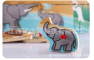 Greensource, Heat Transfer Film for Wooden of Animal pictures & photos