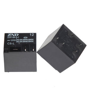 Zd4115k (T91) Power Relay for Household Appliances &Industrial Use Miniature Size 30A Contact Switch pictures & photos