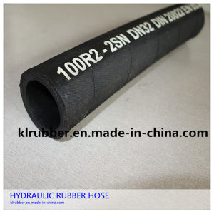 4sp Pressure Control Hydraulic Rubber Hose for Industry pictures & photos