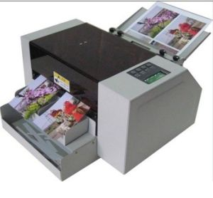 A4 Automatic Business Card Cutter, Card Slitter, Card Cutting, Name Card Machine pictures & photos