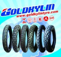 Goldkylin Best Quality Motorcycle Tyre/Tire (3.00-18, 90/90-18)