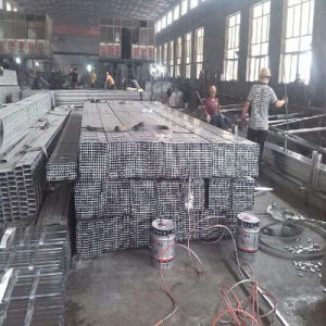 20X20mm Galvanized Steel Pipe for Steel Furniture with Thin Wall pictures & photos